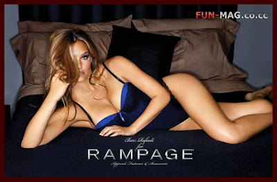 Bar Refaeli Rampage Fashion Professional Photo Session