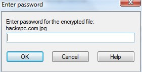 encryption  password