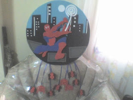 "Piñata ""Spiderman"""