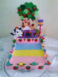 Porta Torta - Fresita