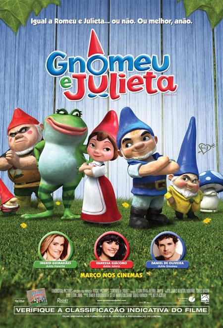 Assistir Filme Gnomeu e Julieta – 2011 – Dublado Online