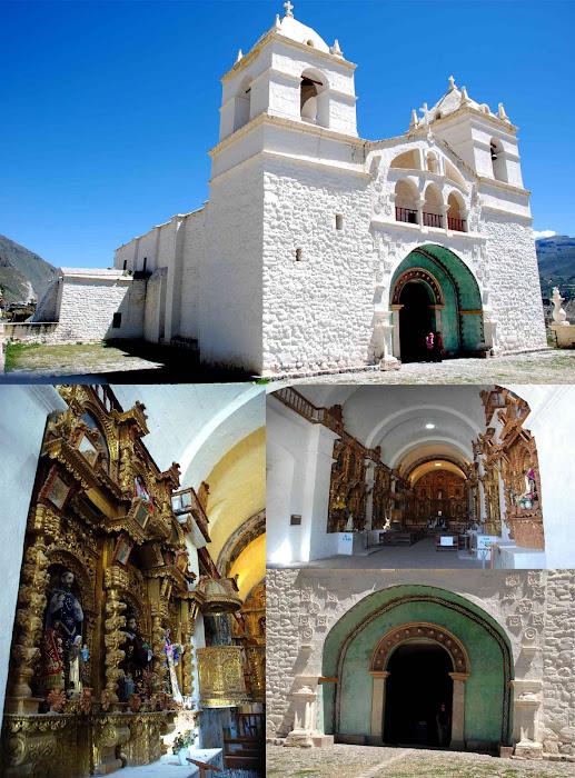 IGLESIA  SANTA ANA DE MACA, Cañón del Colca Arequipa