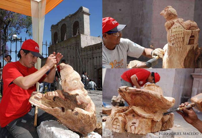 Concurso de Tallado en madera Arequipa 2009