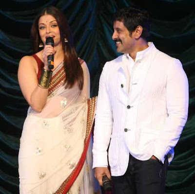 Aishwarya and Vikram in Raavan