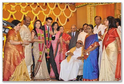 Superstar Rajini second daughter Soundarya reception photos