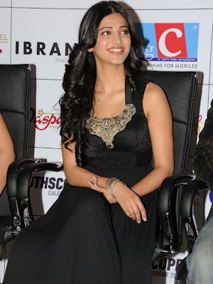 Actress Shruthi Hassan stills