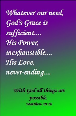 ... / Christian Cards Printable - With God all things are possible