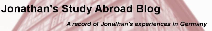 Jonathan's Blog