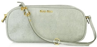 Miu Miu Croc Print Leather Bag