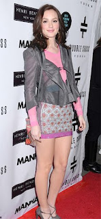 leighton meester wearing louis vuitton outfit with louis vuitton minibag