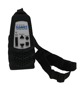 Image of i.d. mate Summit, with neck strap