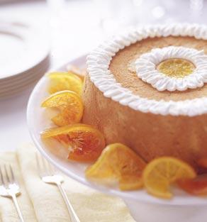 Cake Recipes: Brown Sugar Angel Food Cake