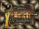 """Presente do """"Curiosa"""" - 200 seguidores"""