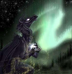 Un dragón...