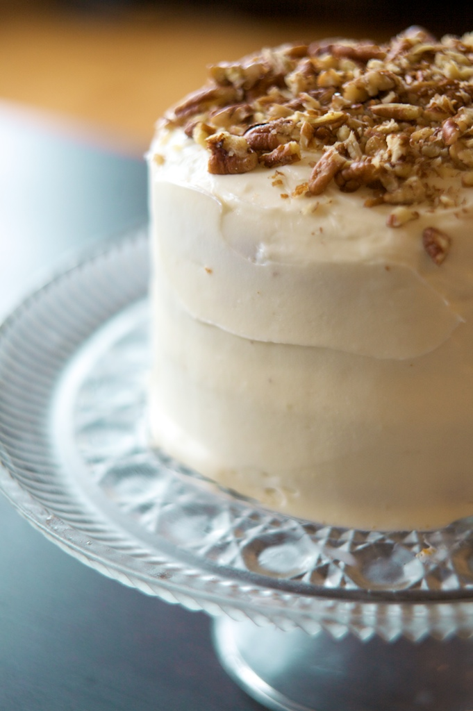 ... Love of Sucrose: Pumpkin Spice Cake with Maple Cream Cheese Frosting