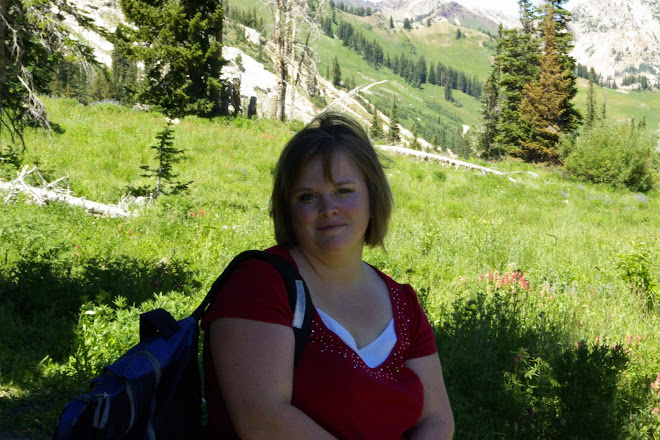 Jessica at Albion Basin