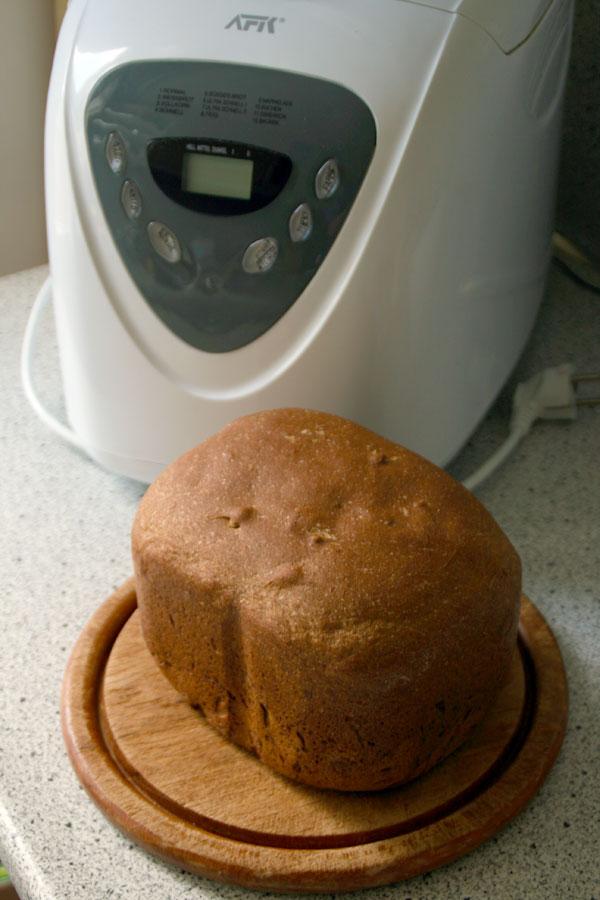 Brood bakken met machine