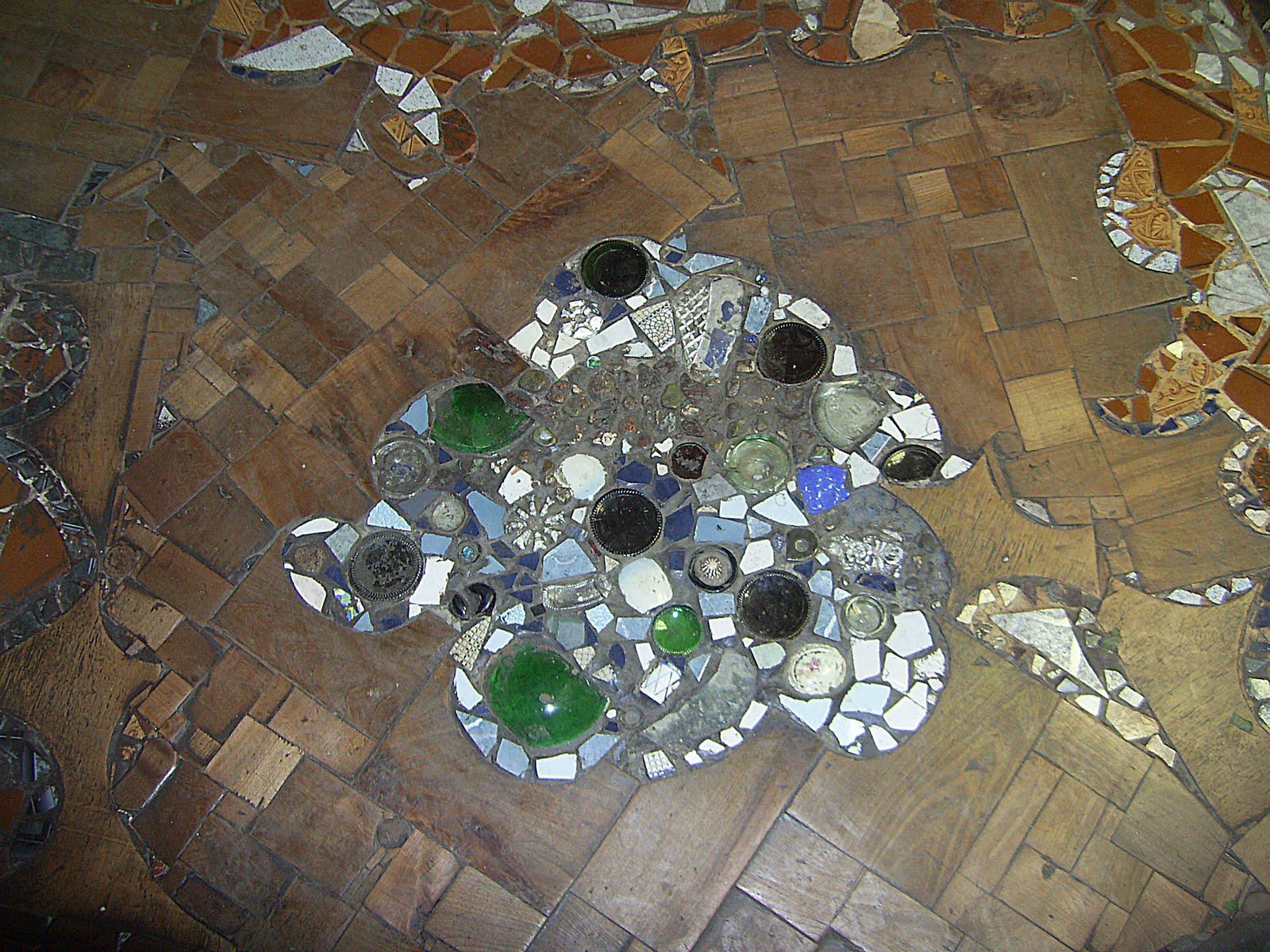 El lunar de shiva pisos de mosaico y madera - Mosaico de madera ...