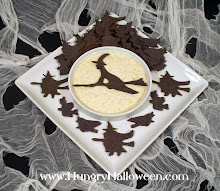 Halloween Recipes - Cackling Crackers and Full Moon Dip