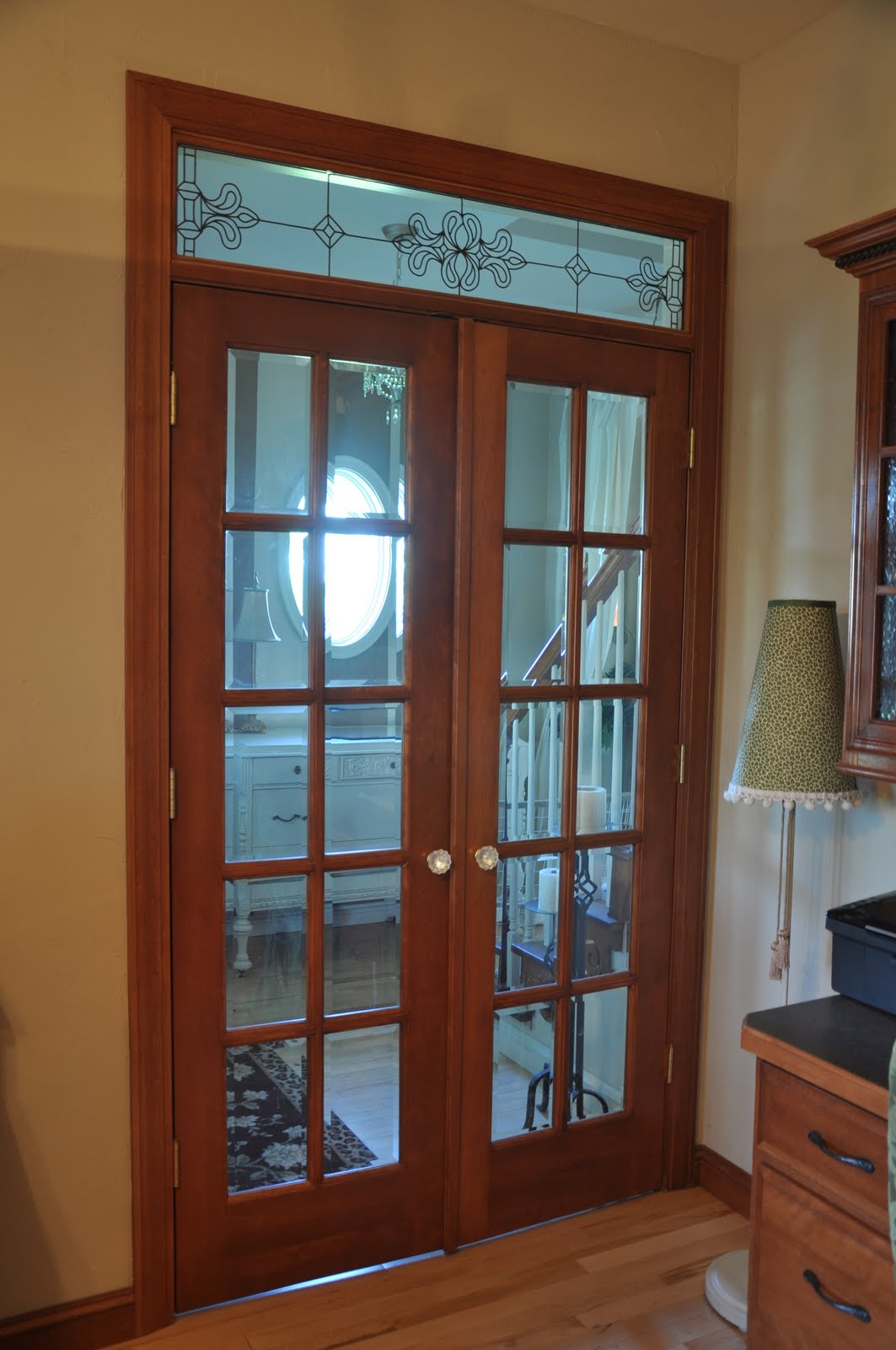 Interior french doors: custom made interior french doors.