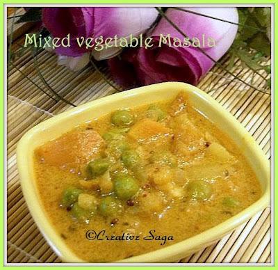 mix veg masala