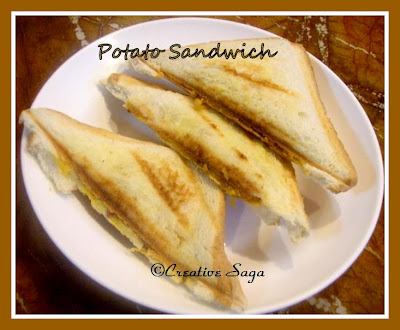 potato sandwich