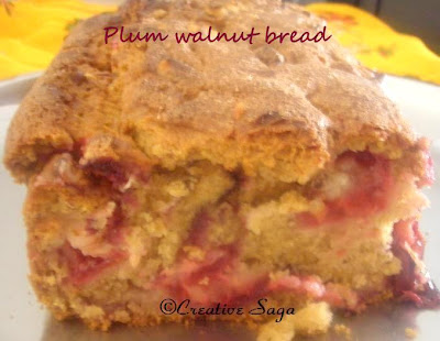 eggless plum walnut cake