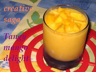 tangy mango drink