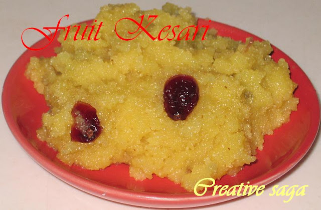 fruit rava kesari