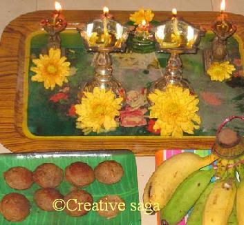 low fat janmashtami appam