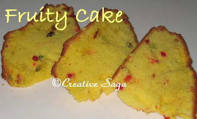 tutty fruity cake