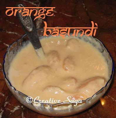 orange basundi