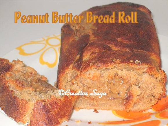 peanut butter bread roll