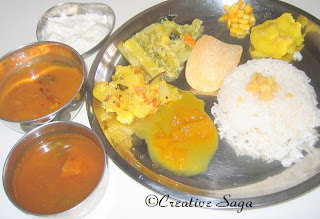 tamil lunch