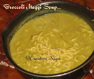 broccoli maggi soup