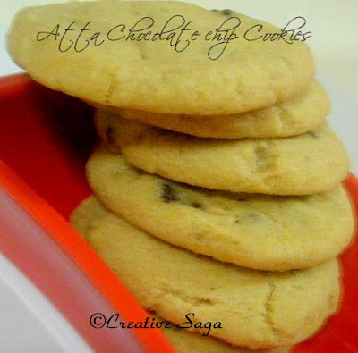 atta chocochips cookies