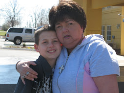 Brendan and MaMa on vacation
