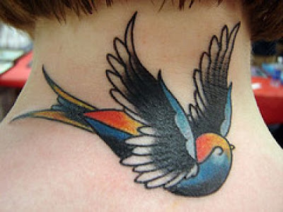 Swallow Bird tattoo pictures and bird tattoo designs