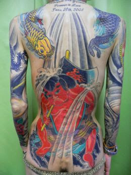 Japanese were tattooing
