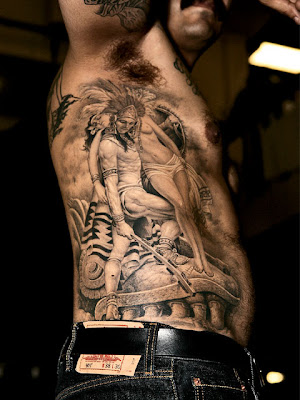 Tag : david beckham tattoo, david beckham jessus tattoo design, religious