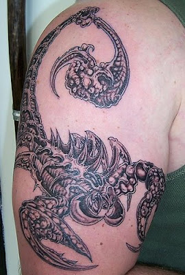 Scorpio Tattoos Design