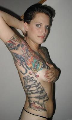 woman tattoo,tattoo girl,butterfly