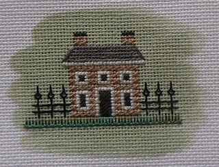 Designer: Gay Ann Rogers. Type of needlework: Needlepoint. Photo: 1