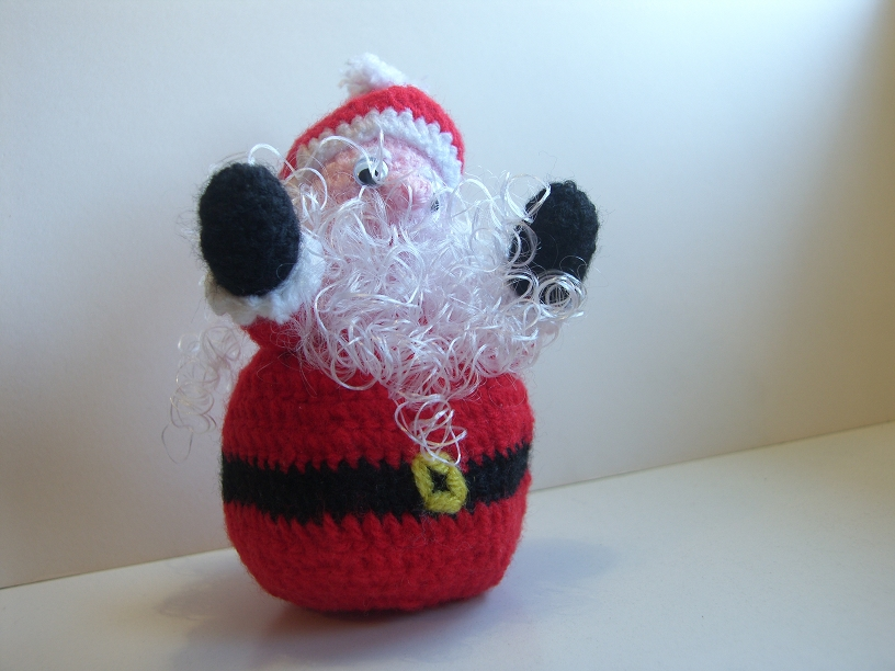 Tutorial Amigurumi Babbo Natale Uncinetto : Un miglio di maglia: Babbo Natale Amigurumi