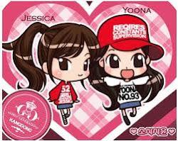 jessica & yoona SNSD animation