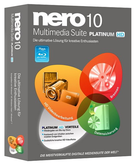 Nero Multimedia Suite 10.5 Platinum HD Multilanguage (1 dvd)
