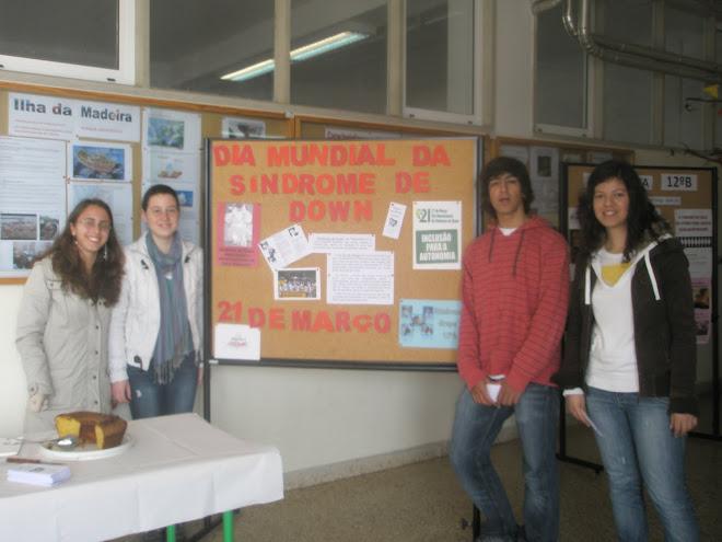 Celebração na nossa escola do dia mundial da sindrome de down!