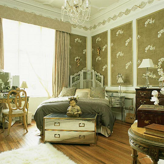 Le cerf et la chouette i vintage bedrooms for Vintage style living room ideas