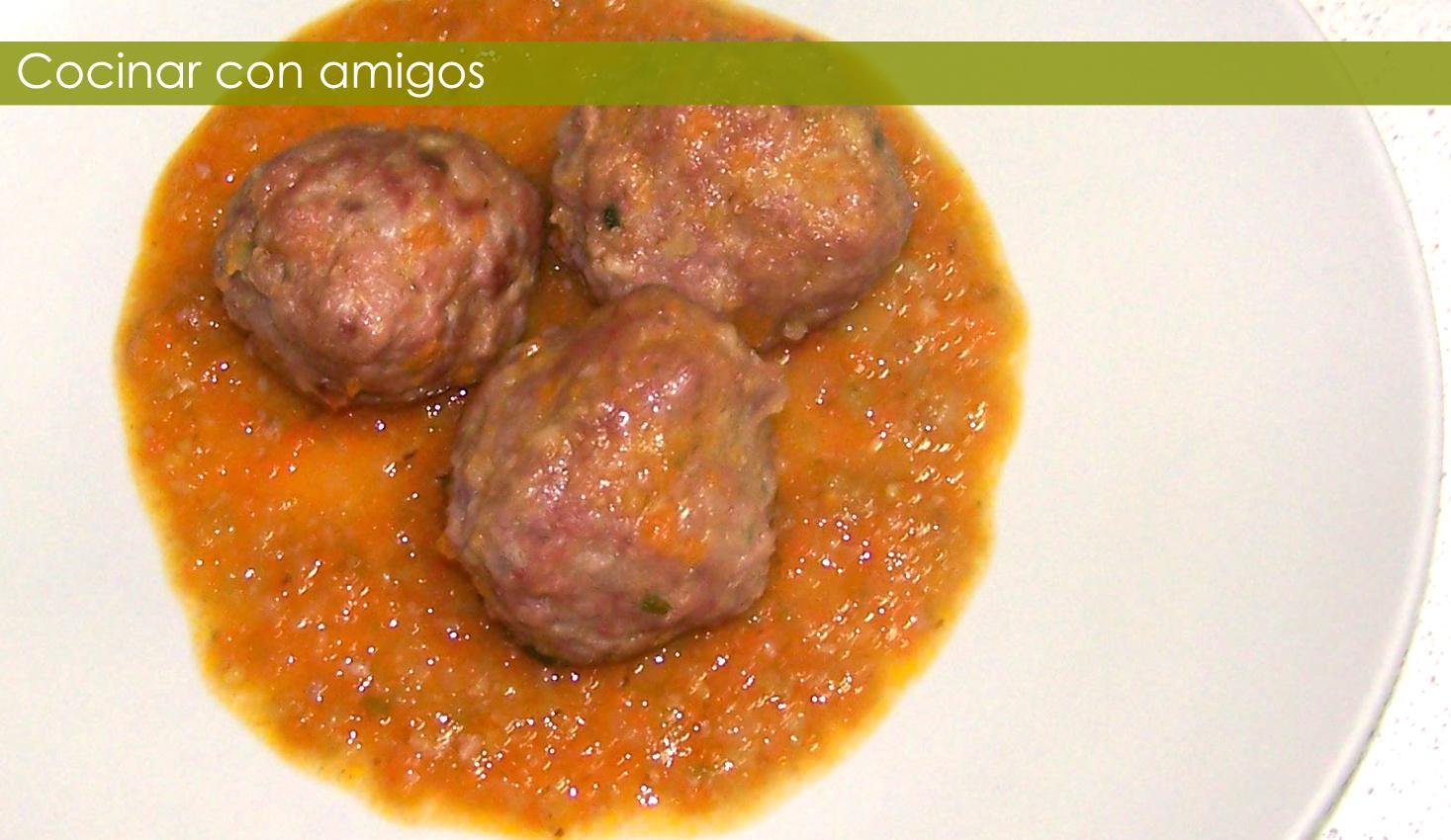 Alb ndigas con verduras cocinar con amigos for Albondigas de verduras