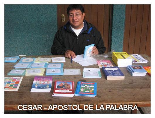 CESAR - APOSTOL DE LA PALABRA